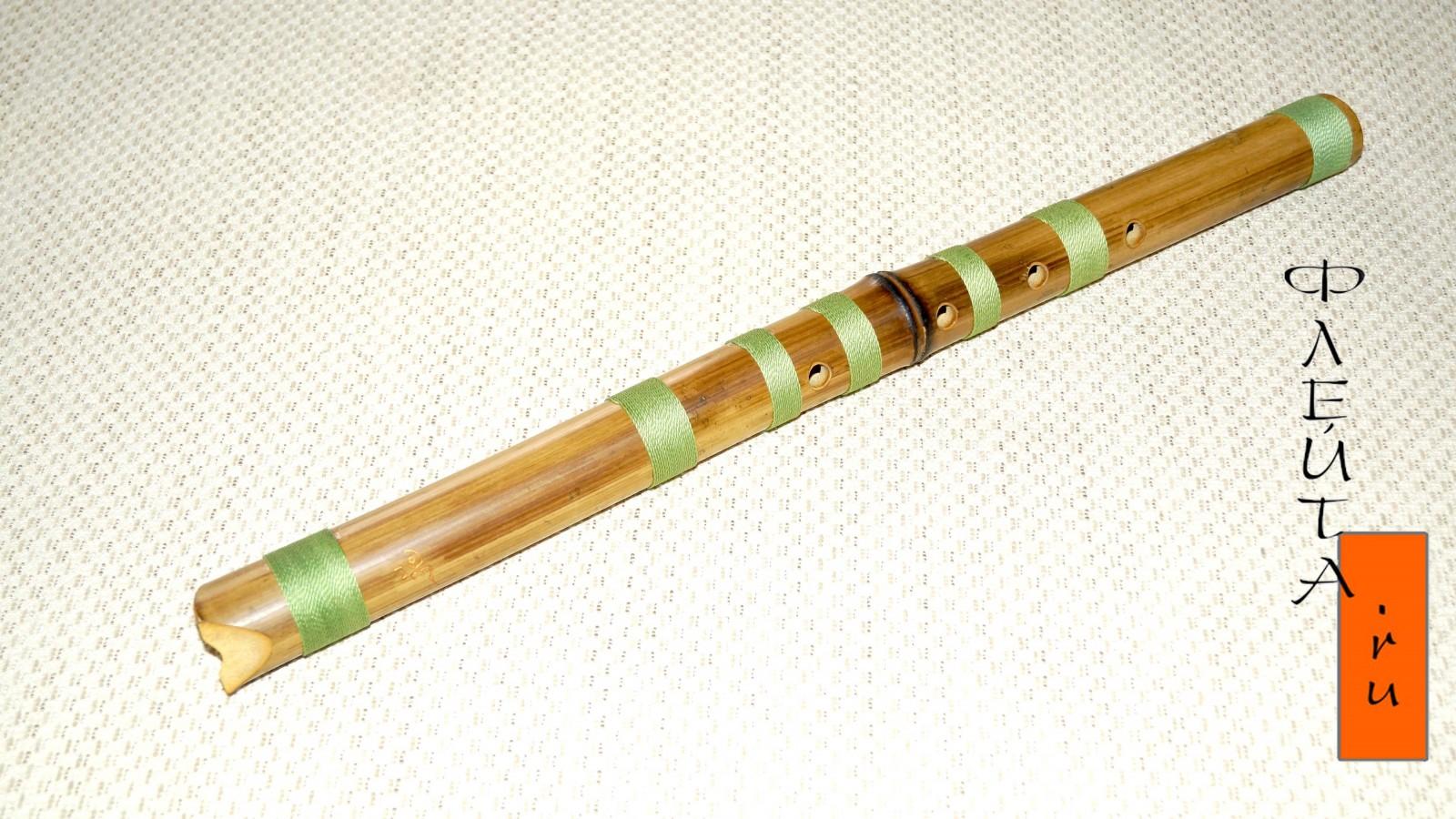 Как сделать бамбуковую флейту своими руками 99